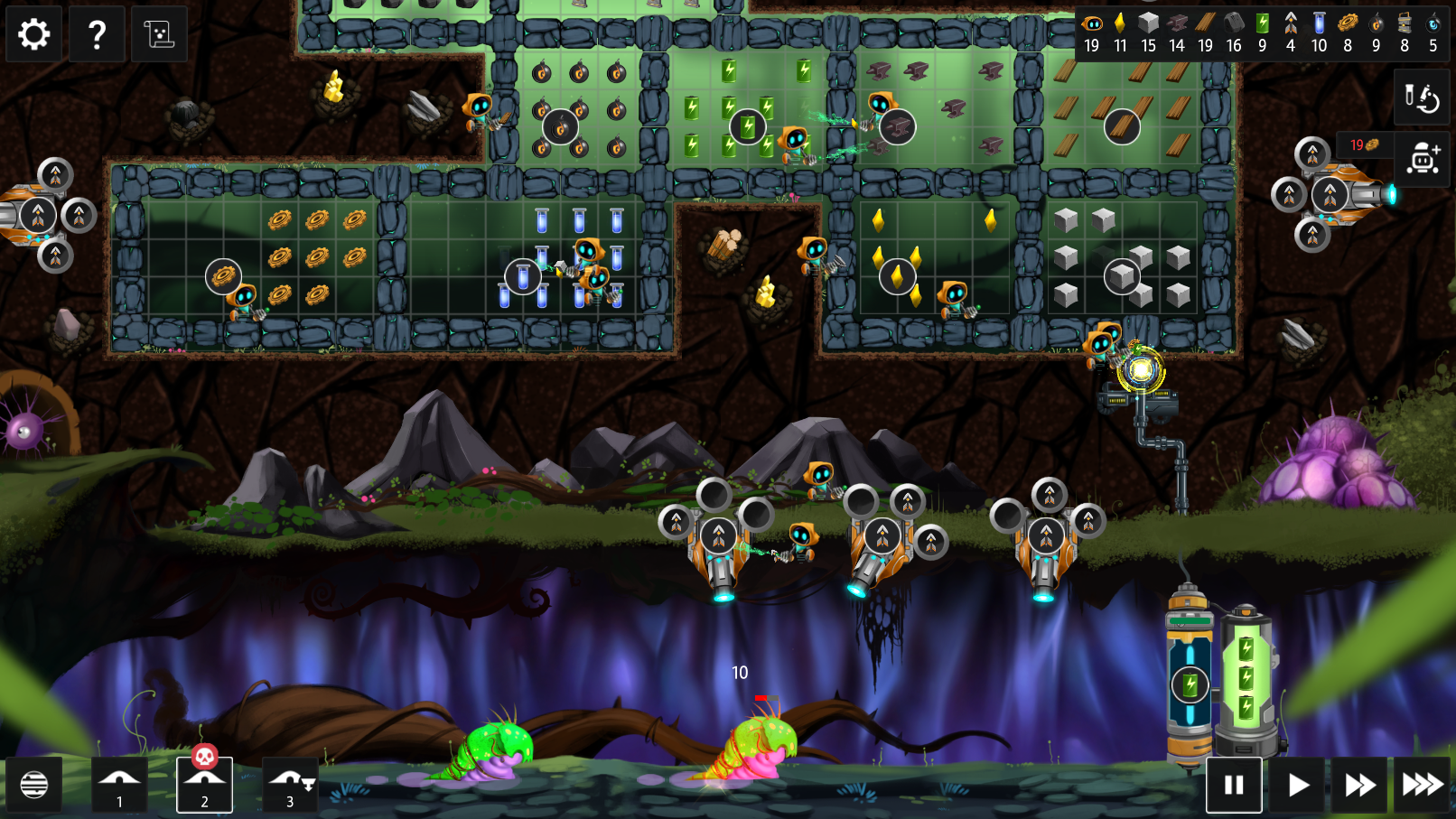 Screenshot from the video game Illuminaria